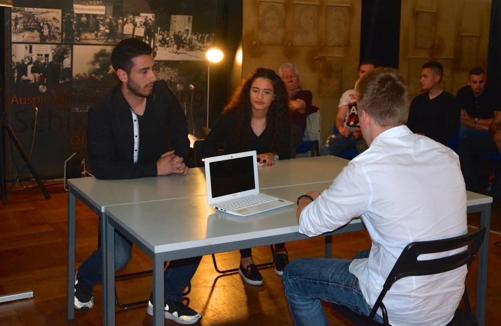 Alman öğrenciler NSU kurbanlarını andı galerisi resim 13