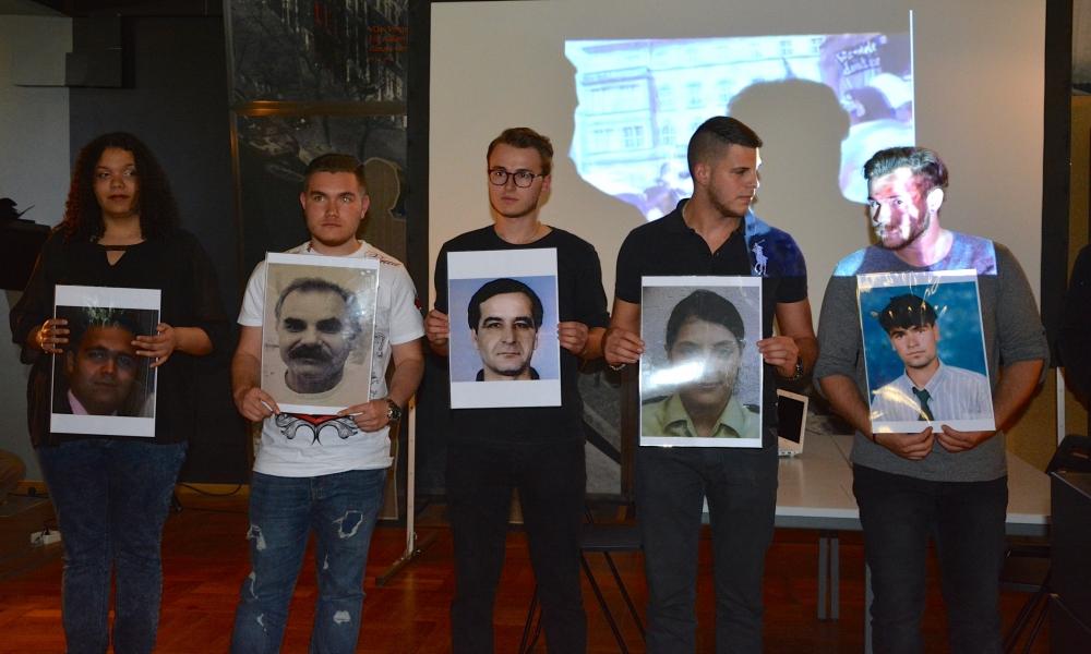 Alman öğrenciler NSU kurbanlarını andı galerisi resim 17