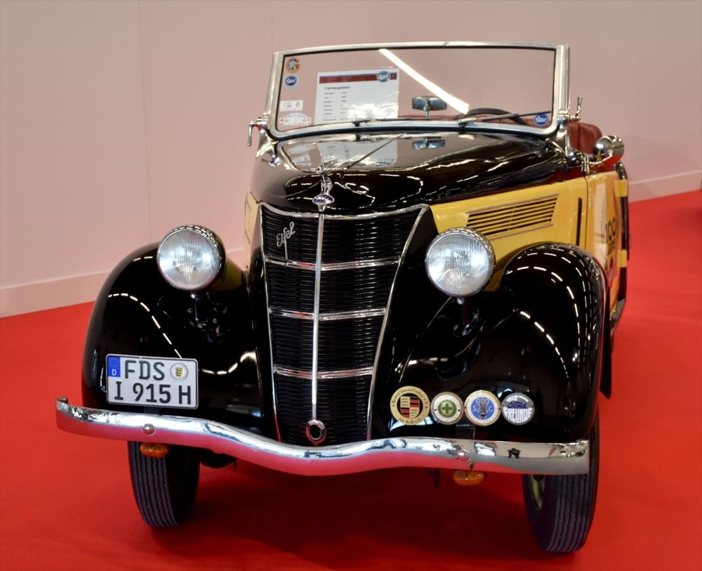 Klasik otomobiller Frankfurt'ta görücüye çıktı galerisi resim 1