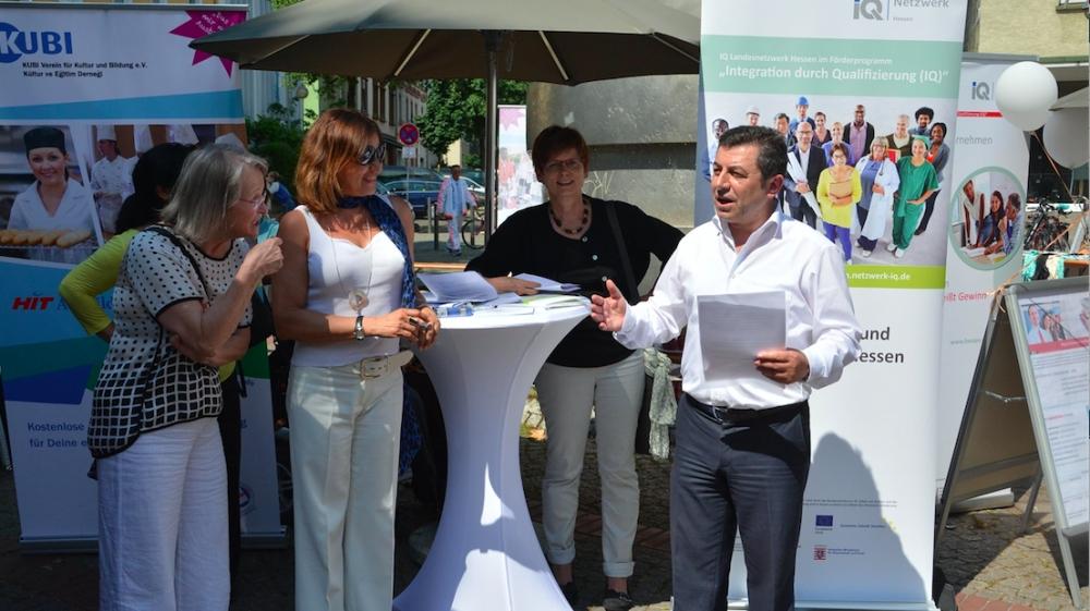 Frankfurt'ta Çeşitlilik Günü kutlaması galerisi resim 1