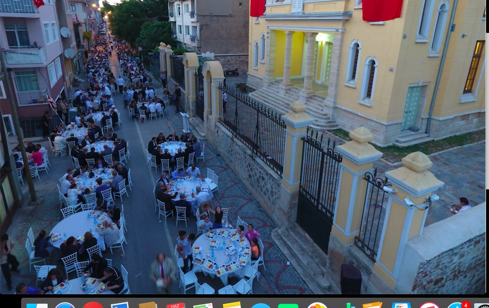 Musevilerden sokak iftarı galerisi resim 3