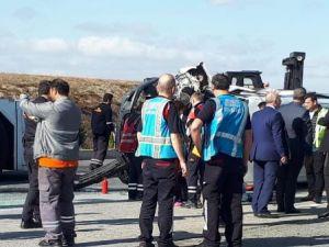 Atatürk Havalimanı'nda kaza anı