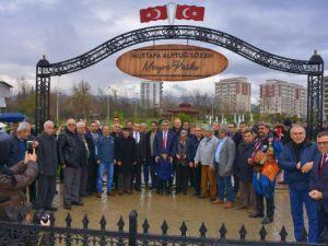 Kahraman Türk gencin ismi parka verildi