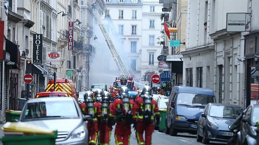 Paris'te patlama: Çok sayıda yaralı galerisi resim 1
