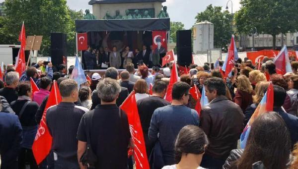 CHP'liler Köln'den Kılıçdaroğlu'na destek verdiler galerisi resim 2