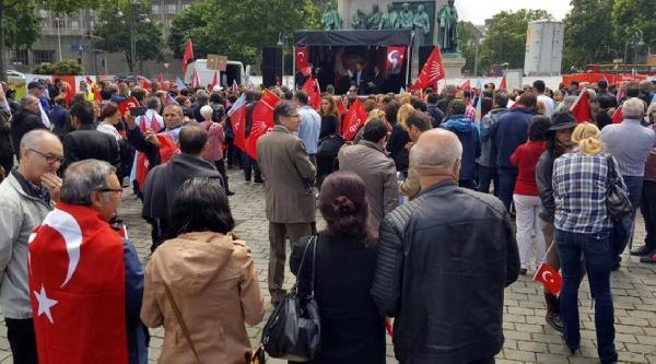 CHP'liler Köln'den Kılıçdaroğlu'na destek verdiler galerisi resim 4