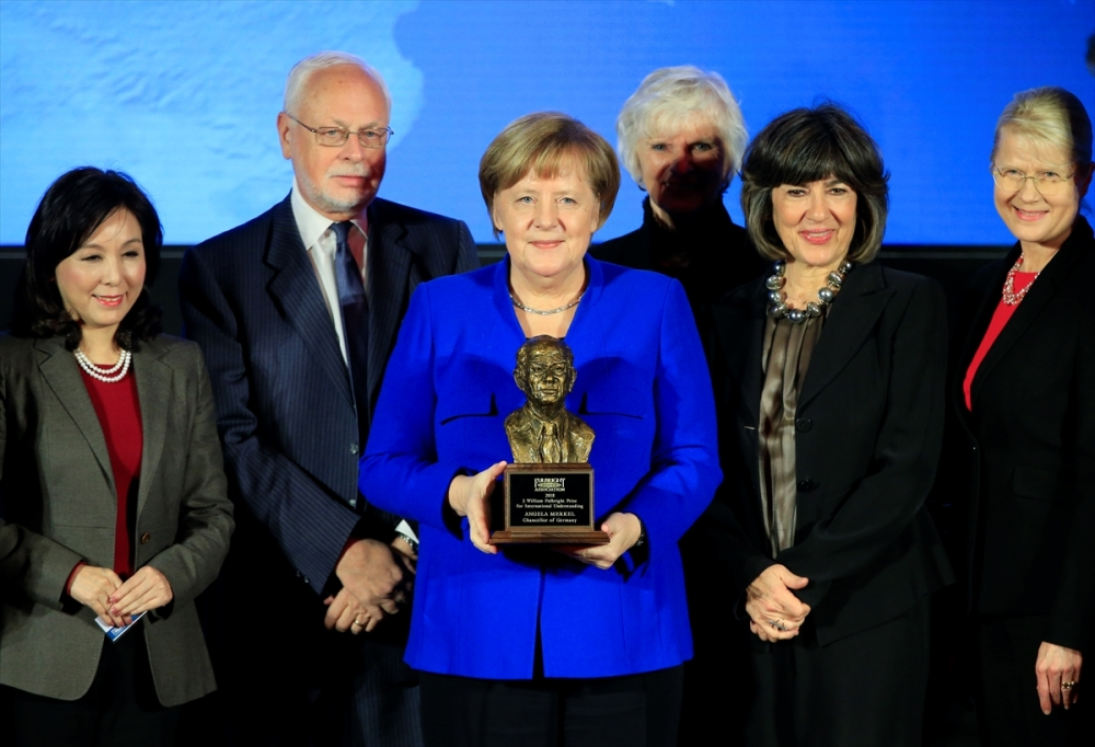 Merkel'e Fulbright Anlayış Ödülü galerisi resim 2