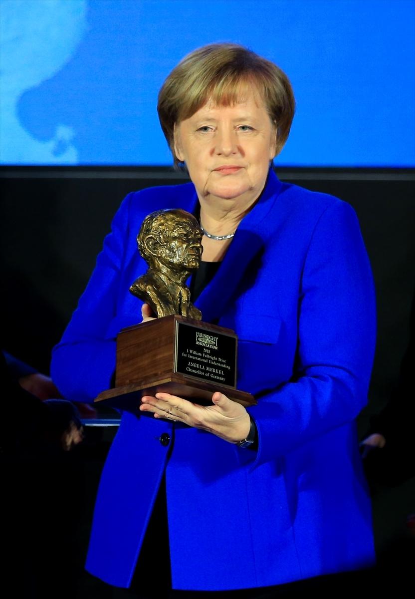 Merkel'e Fulbright Anlayış Ödülü galerisi resim 3