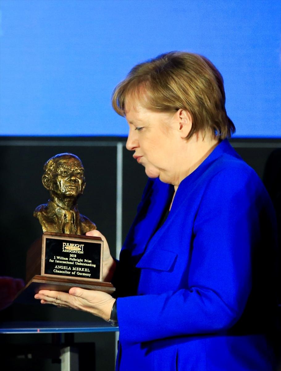 Merkel'e Fulbright Anlayış Ödülü galerisi resim 5
