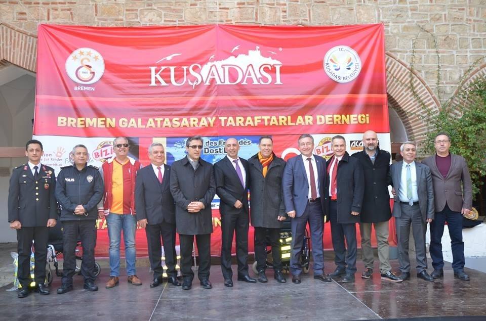 'Gurbetçi Galatasaraylılar'dan tır dolusu yardım galerisi resim 1