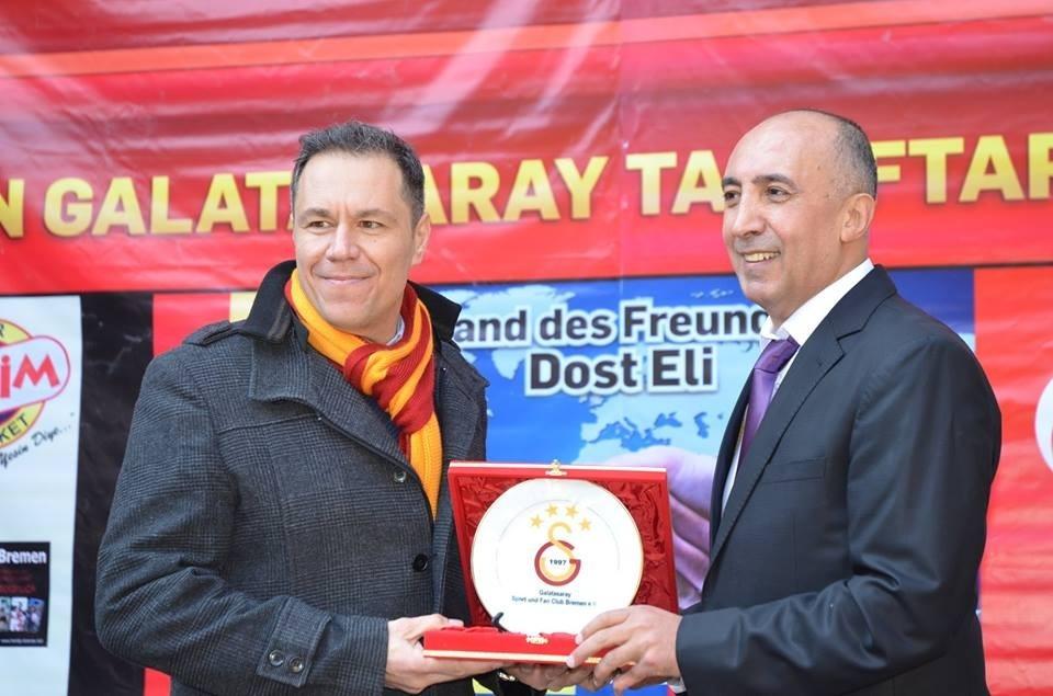 'Gurbetçi Galatasaraylılar'dan tır dolusu yardım galerisi resim 2