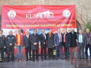 'Gurbetçi Galatasaraylılar'dan tır dolusu yardım