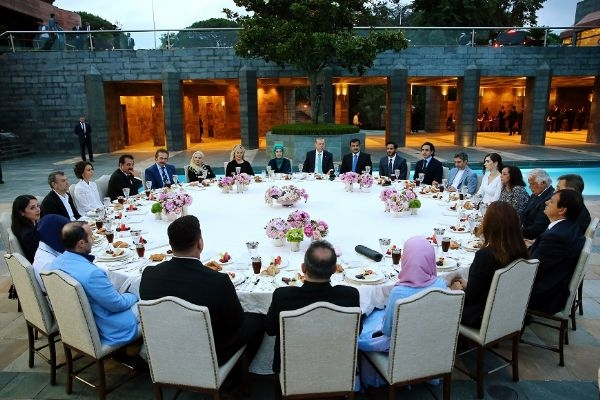 Erdoğan'ın iftarından kareler galerisi resim 1