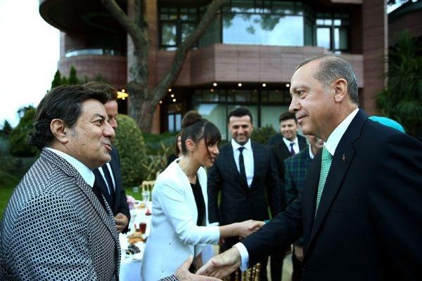Erdoğan'ın iftarından kareler galerisi resim 10