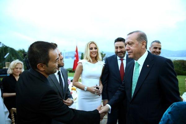 Erdoğan'ın iftarından kareler galerisi resim 12