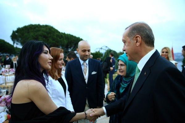 Erdoğan'ın iftarından kareler galerisi resim 13