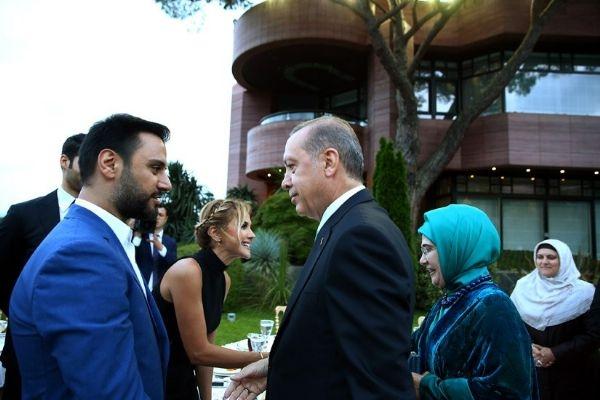 Erdoğan'ın iftarından kareler galerisi resim 15