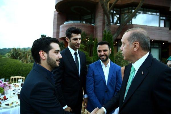 Erdoğan'ın iftarından kareler galerisi resim 16