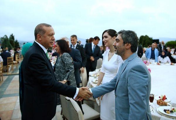 Erdoğan'ın iftarından kareler galerisi resim 2