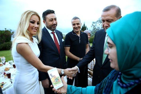 Erdoğan'ın iftarından kareler galerisi resim 20