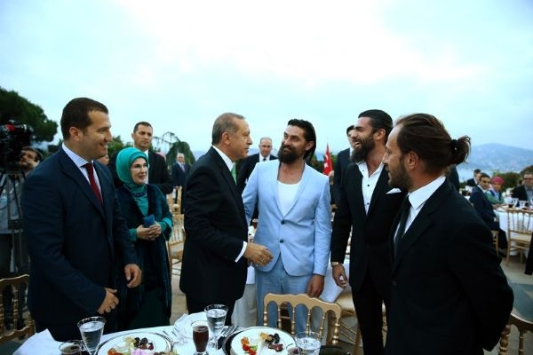 Erdoğan'ın iftarından kareler galerisi resim 22