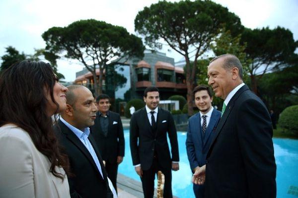 Erdoğan'ın iftarından kareler galerisi resim 25