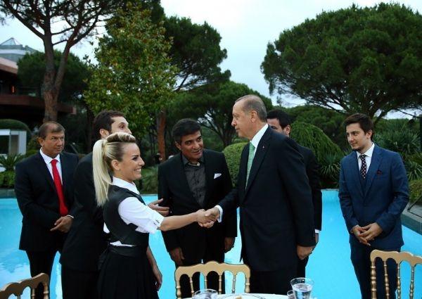 Erdoğan'ın iftarından kareler galerisi resim 26