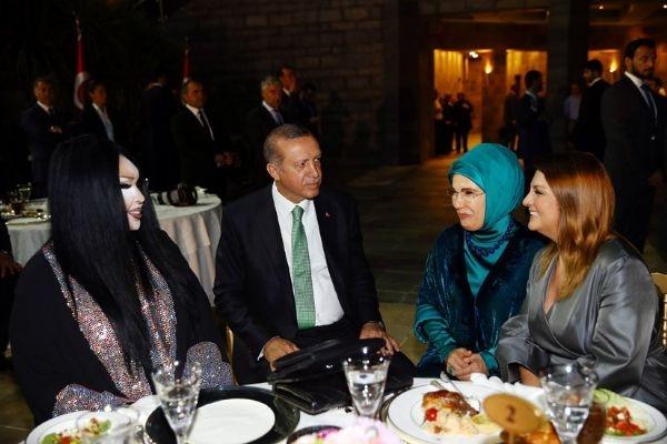 Erdoğan'ın iftarından kareler galerisi resim 29