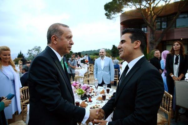 Erdoğan'ın iftarından kareler galerisi resim 35