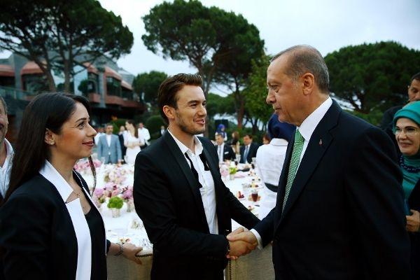 Erdoğan'ın iftarından kareler galerisi resim 36