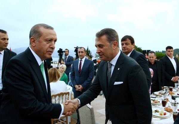 Erdoğan'ın iftarından kareler galerisi resim 37