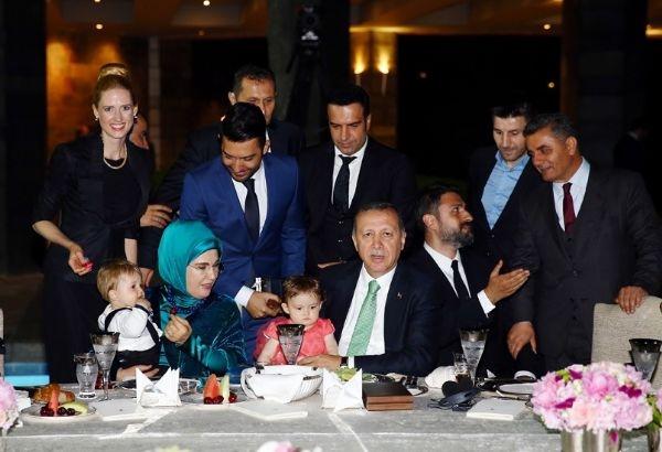 Erdoğan'ın iftarından kareler galerisi resim 39