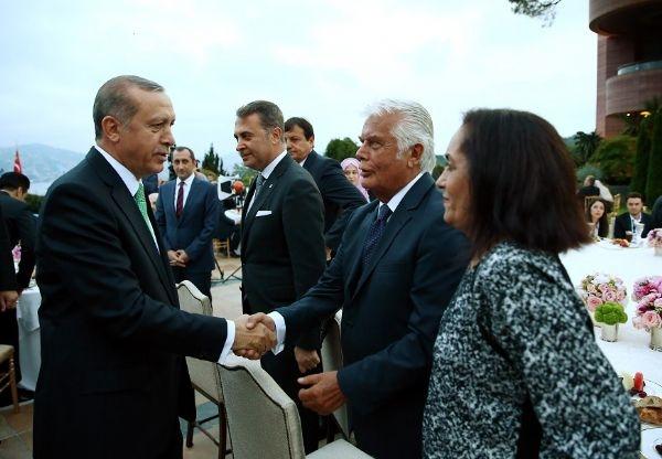 Erdoğan'ın iftarından kareler galerisi resim 4