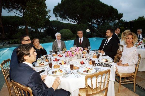 Erdoğan'ın iftarından kareler galerisi resim 45