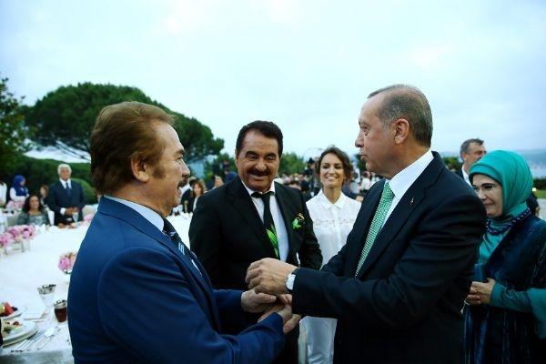 Erdoğan'ın iftarından kareler galerisi resim 5