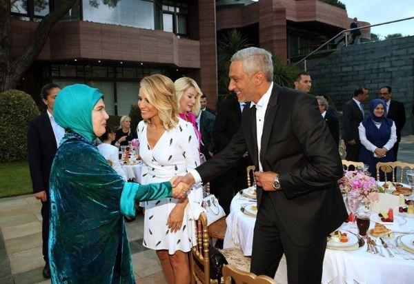 Erdoğan'ın iftarından kareler galerisi resim 6