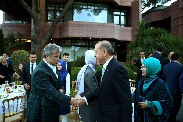 Erdoğan'ın iftarından kareler galerisi resim 9