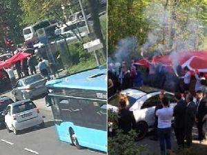 Almanya'da Türk düğün konvoyu tartışması
