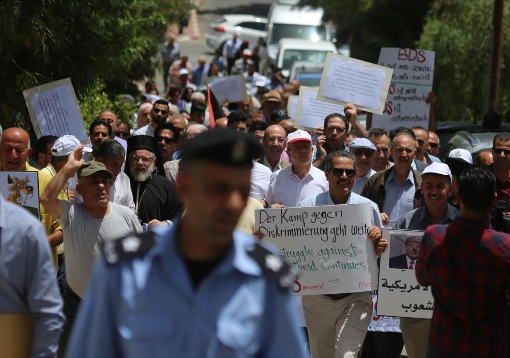 Filistin'den Almanya'ya BDS protestosu galerisi resim 1