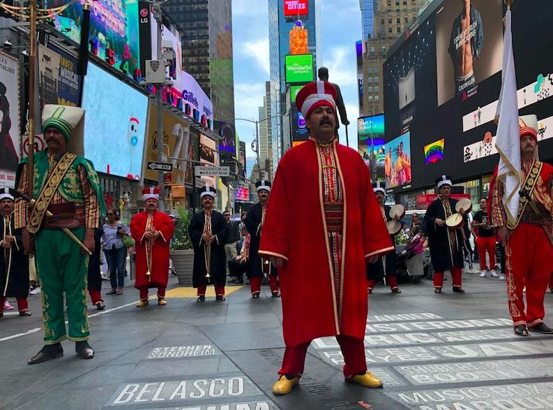 New York'ta mehterli Türk Günü galerisi resim 1