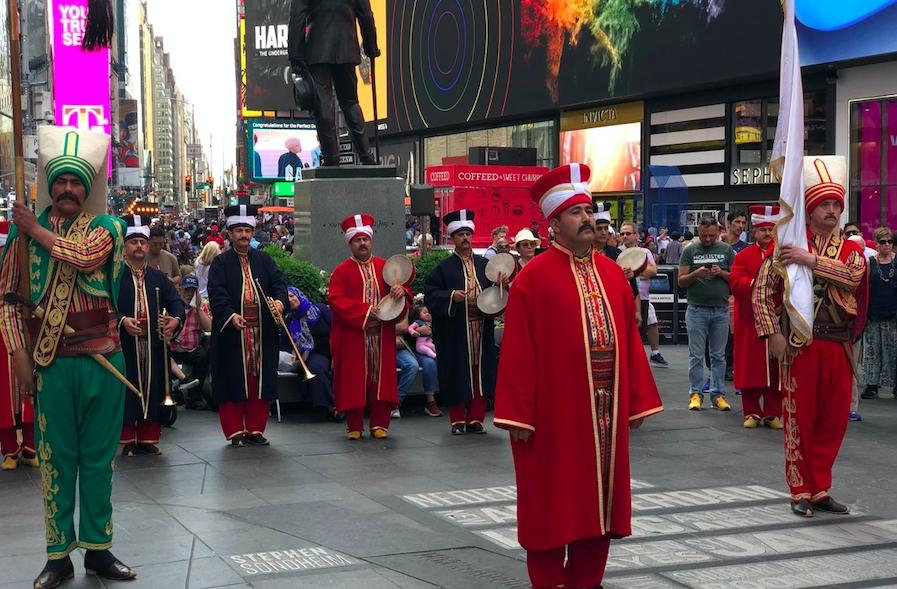 New York'ta mehterli Türk Günü galerisi resim 4