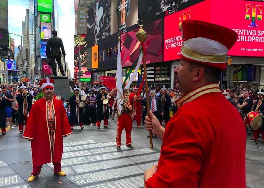 New York'ta mehterli Türk Günü galerisi resim 7