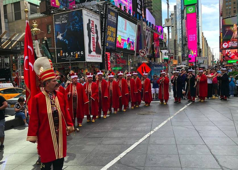 New York'ta mehterli Türk Günü galerisi resim 8