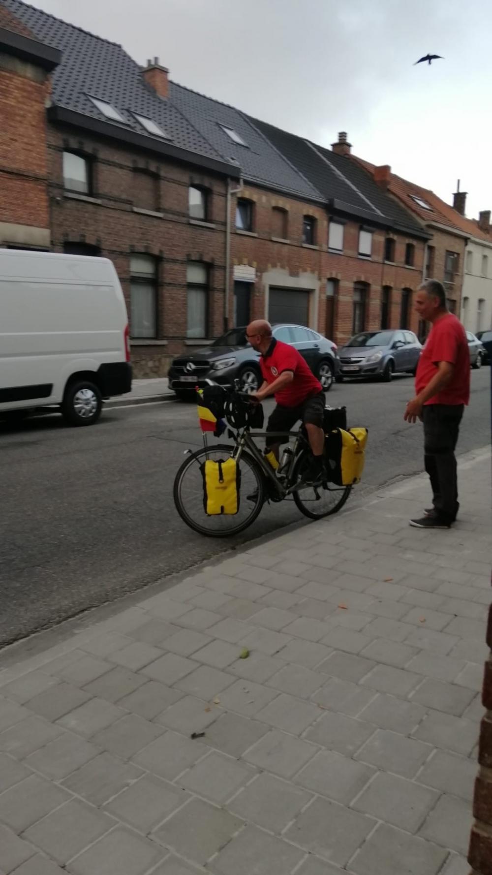 Belçika'dan Kayseri'ye bisikletle yola çıktı galerisi resim 2