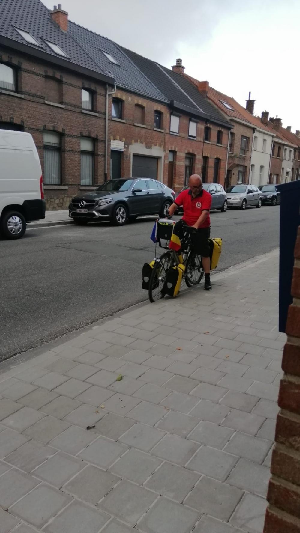 Belçika'dan Kayseri'ye bisikletle yola çıktı galerisi resim 5