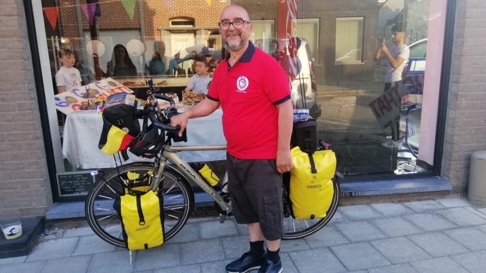 Belçika'dan Kayseri'ye bisikletle yola çıktı galerisi resim 6