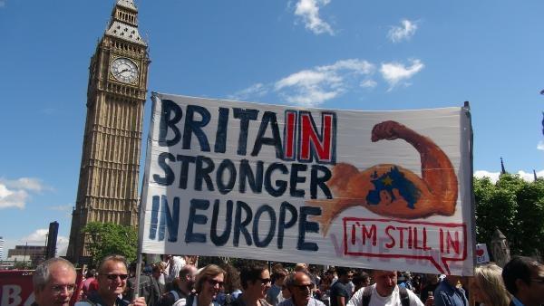 Londra: AB'den ayrılmak istemiyoruz galerisi resim 4