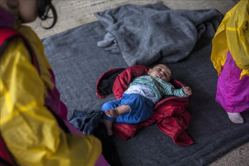 Sığınmacıların umudu Balkanlarda son buldu galerisi resim 1