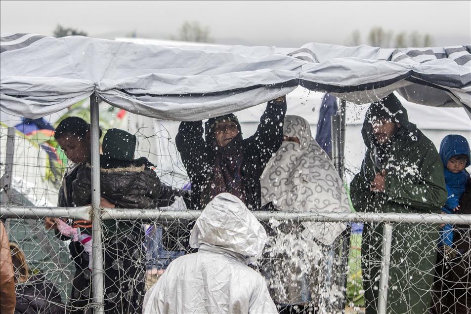 Sığınmacıların umudu Balkanlarda son buldu galerisi resim 3