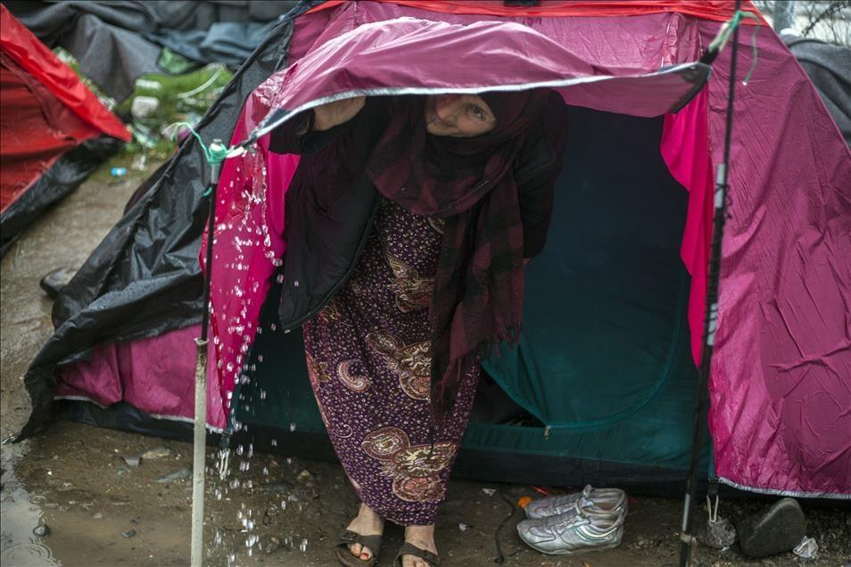 Sığınmacıların umudu Balkanlarda son buldu galerisi resim 5